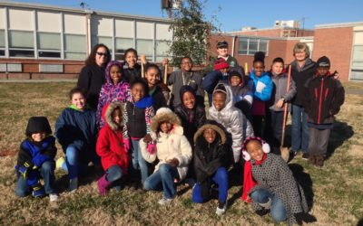 Urban Tree Canopy Project Bridges Community and Curriculum