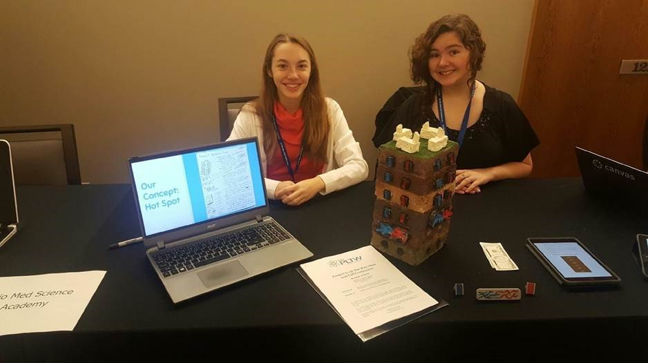 Students Learn Skills to Solve Environmental Issues in Project Lead The Way