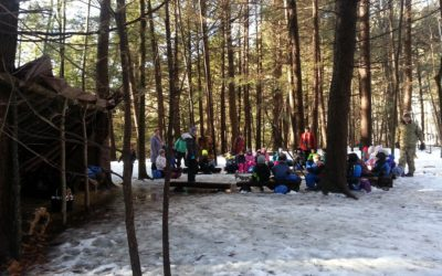 Wednesday in the Woods: Place-Based Education at Hartland Elementary School