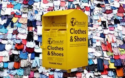How Does Recycling Your Clothes and Shoes Help Protect the Earth?