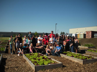 Case Study: Harborside Academy Embraces Service-Learning to Provide Food and Justice for All