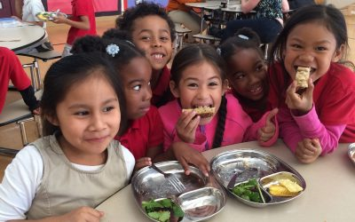 It Takes a Village to Transform School Lunches