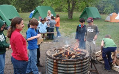 Let's Get Physical: Camping Excursions Bring Prairie Crossing Students Closer to Nature