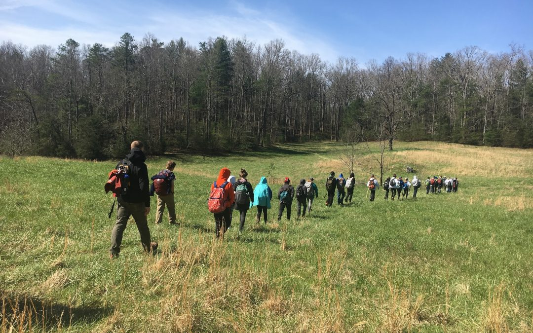 Seventh-Grade Trip to Tremont Combines Physical Activity and Nature in a National Park