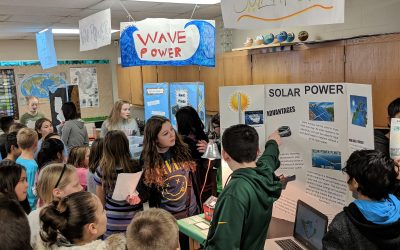Glacier Creek Students Prepare for a World Without Fossil Fuels