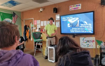 Capstone Projects Provide Stability in a Tumultuous School Year