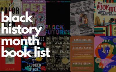 GSNN's Black History Month Book List